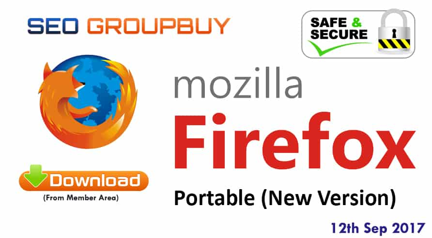 Firefox Portable Browser Update